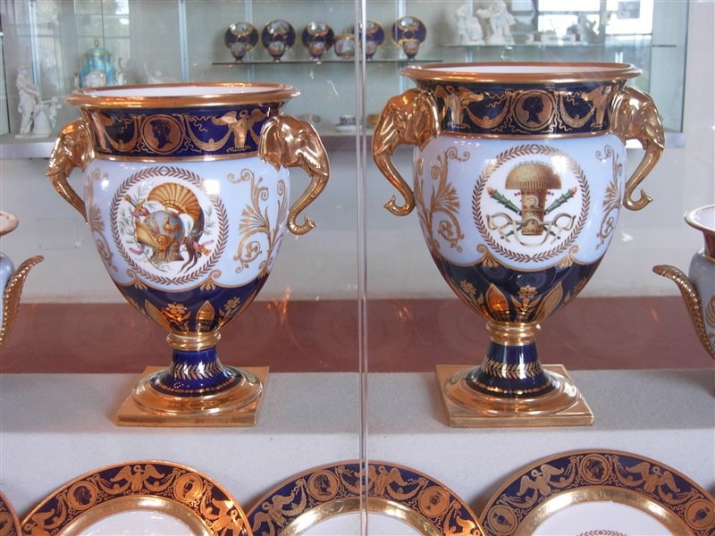 Artifacts in the Silver Museum of Florence