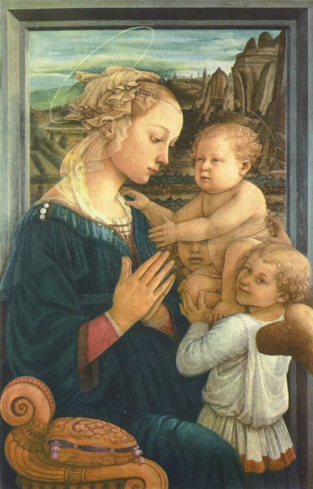 Madonna by Filippo Lippi