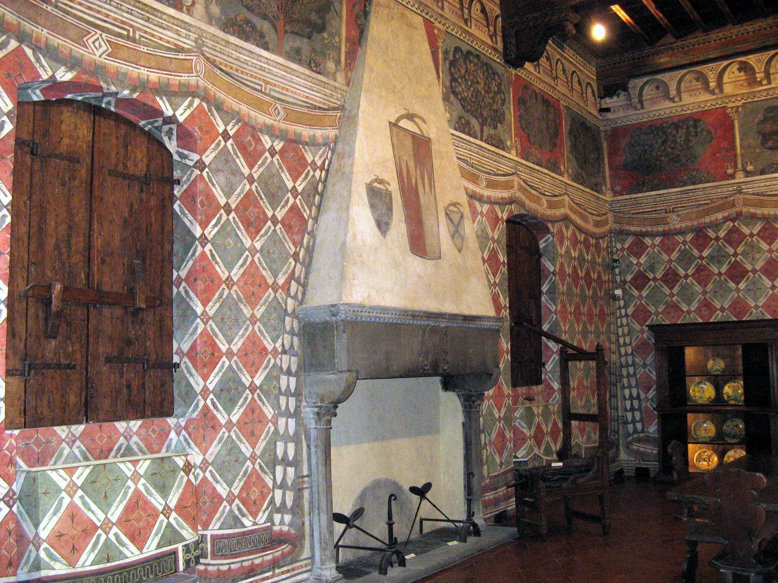 A Davanzati Palace room