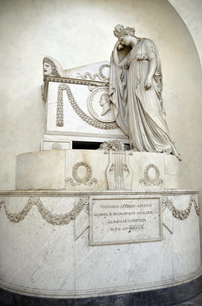 Vittorio Alfieri Funeral Monument in Santa Croce