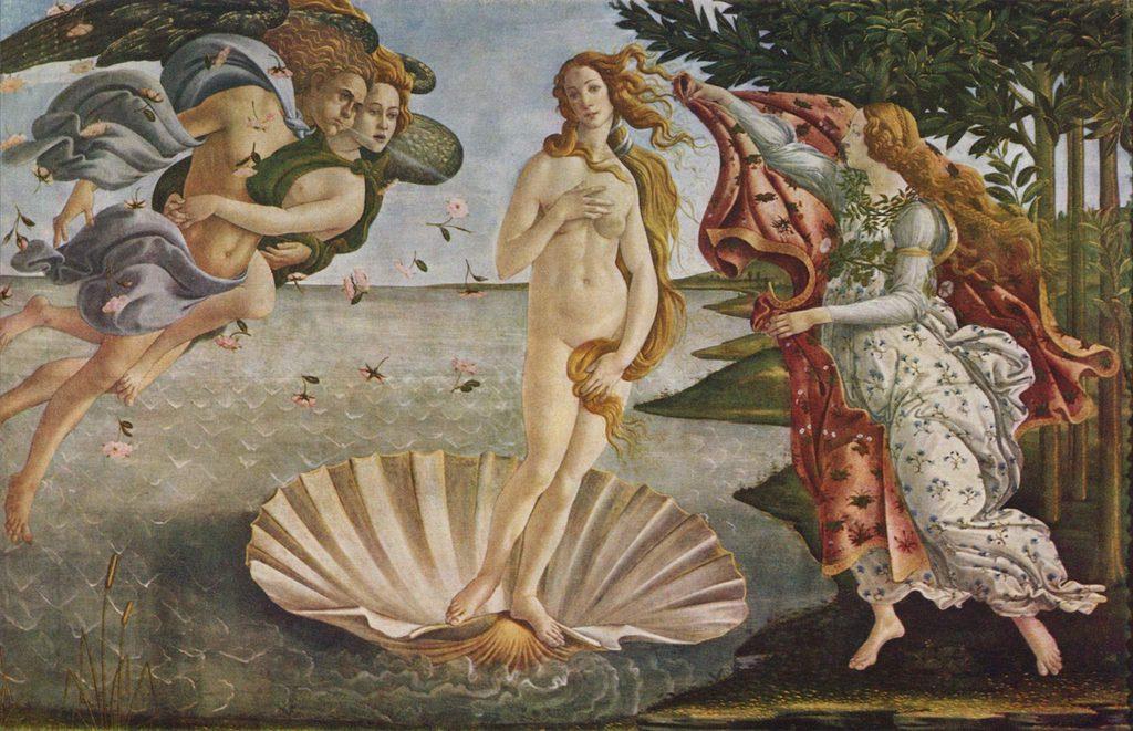 Sandro Botticelli, The Birth of Venus (Uffizi)