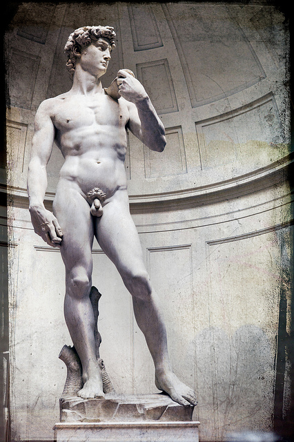 Michelangelo, statue of David (Accademia Gallery, Florence)