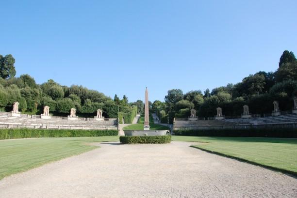 The Obelisco in the Boboli Gardens