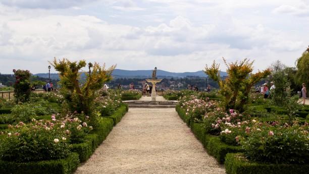 View of the Boboli Gardens
