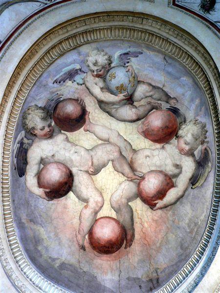 Interior decor in Palazzo Vecchio (Florence)